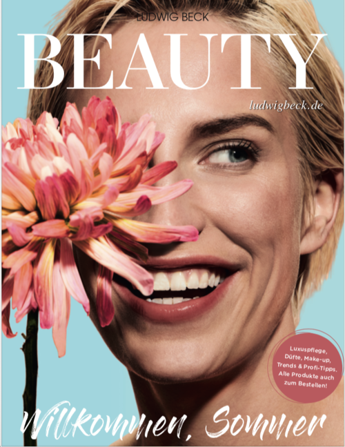 Cover of the Ludwig Beck Beauty Magazine 2019