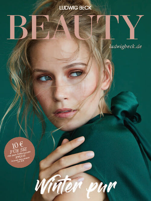 Cover of the Ludwig Beauty magazine autumn/winter 2019