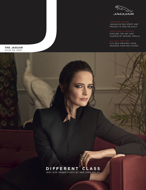 Cover von The Jaguar 05 mit Eva Green