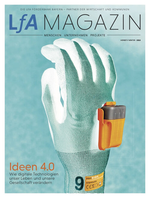 Cover des Lfa-Magazin Herbst/Winter 2018