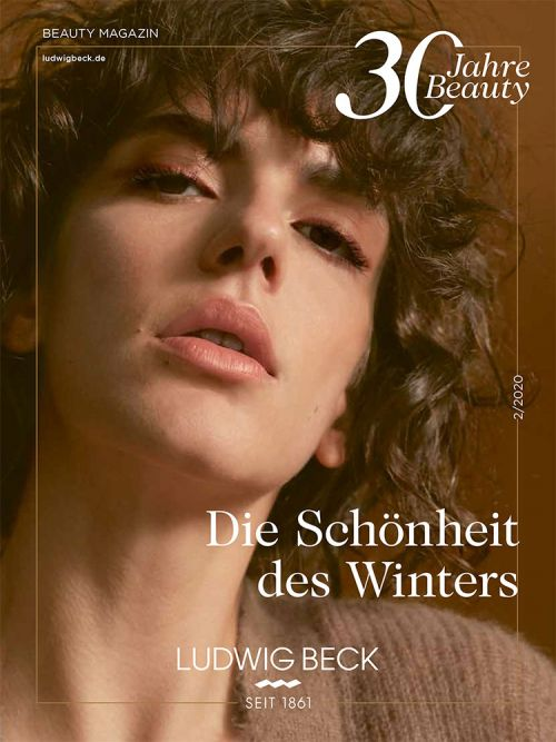 Cover des Ludwig Beck Beauty Magazin Winter 2020