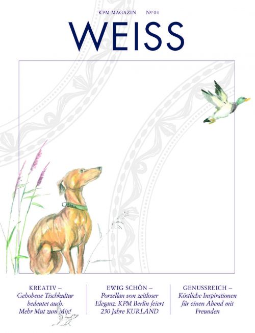 Cover of the WEISS magazine 2020