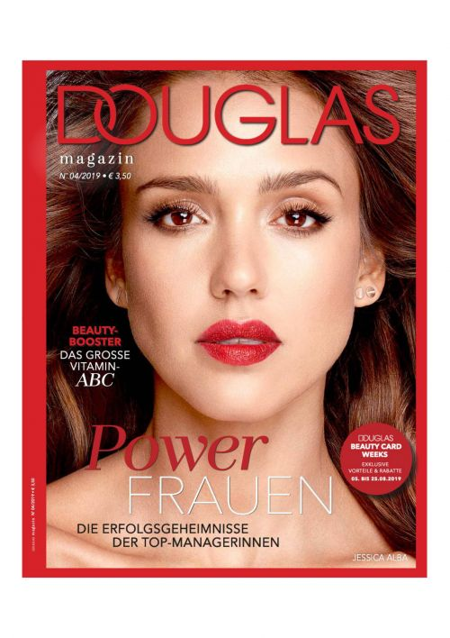 Cover of the Douglas Magazine 04/2019