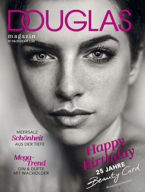 Cover des Douglas Beauty Card Magazins Ausgabe 04/2020